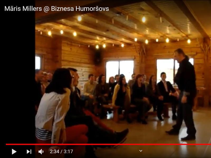 Biznesa humoršovs (Noskaties video fragmentu)